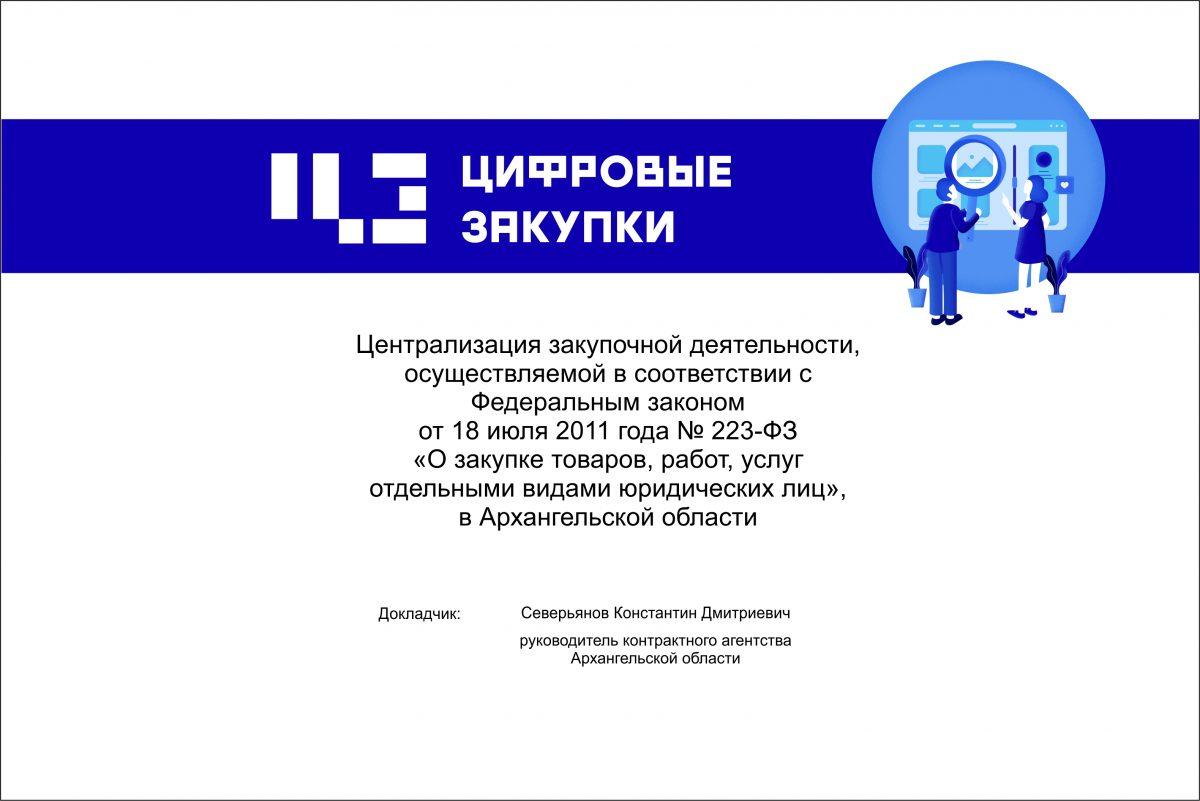 Архангельская область. Шаги цифровизации