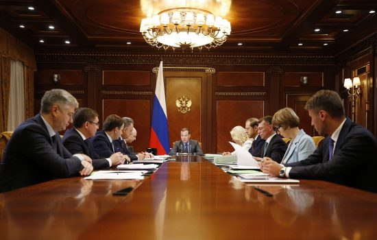 Медведев проведет серию совещаний по достижению национальных целей развития
