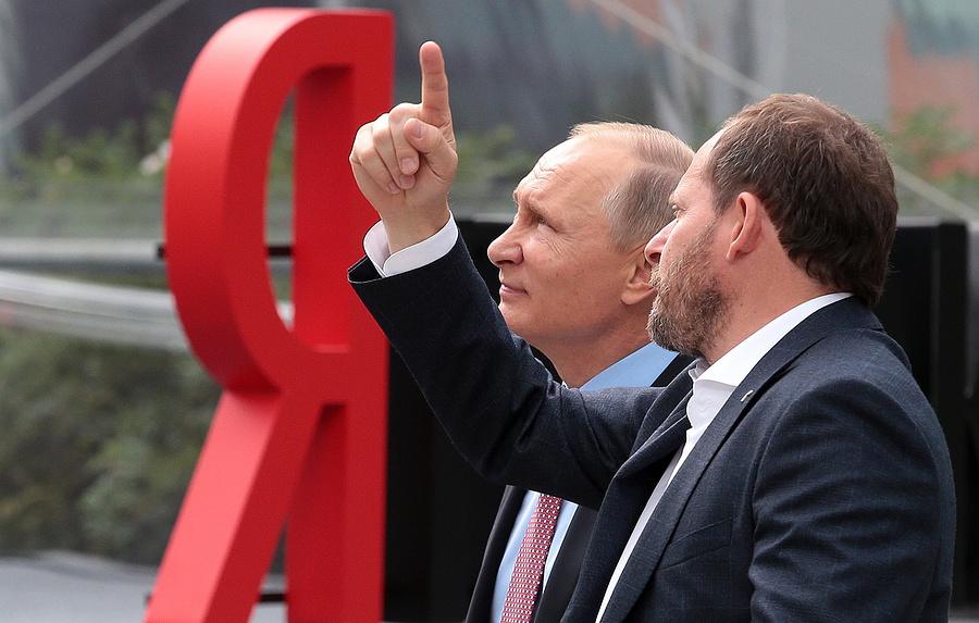 Путин напомнил, что«Яндекс» успешно конкурирует сGoogle вРФ небезпомощи государства