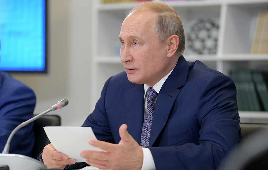 Владимир Путин поддержал позицию Совета безопасности очастотах для5G
