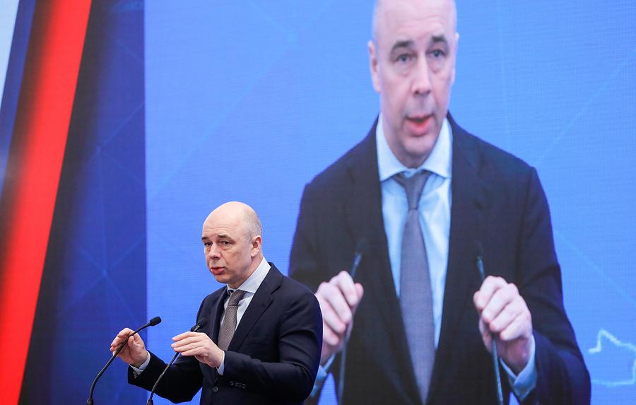 Антон Силуанов: бизнес держит надепозитах около28 трлн рублей
