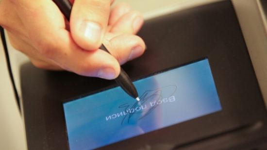 Электронная подпись поставщика