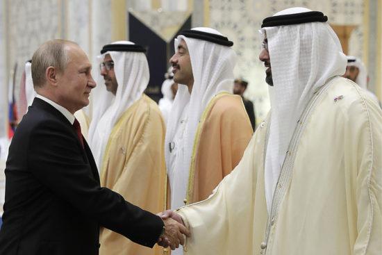 Россия готова помочь ОАЭ в вопросах спутниковой навигации