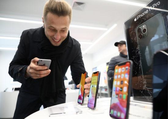 Статус счетов эскроу в мобильном приложении