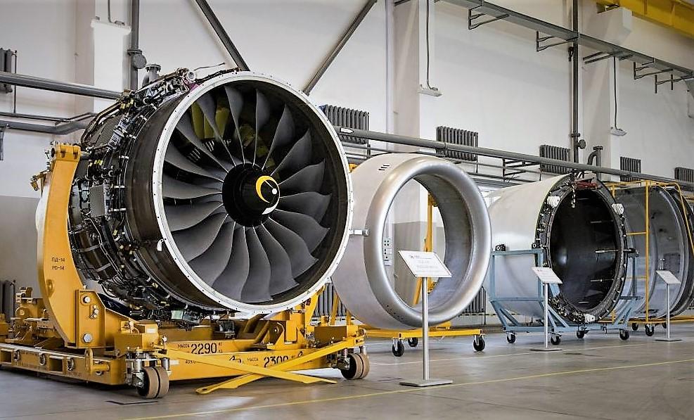 Иркутский авиазавод получил изПерми первые двигатели ПД-14