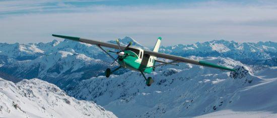 Первый опытный образец самолета