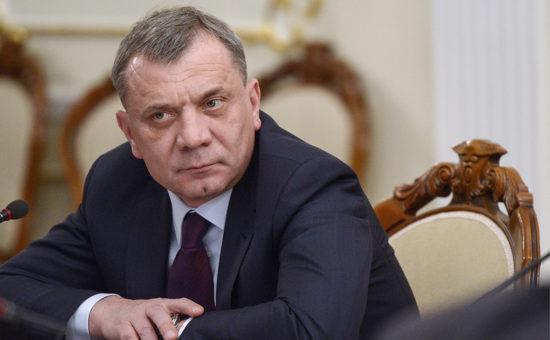 Борисов считает, что российский рынок нужно закрепить за отечественным производителем