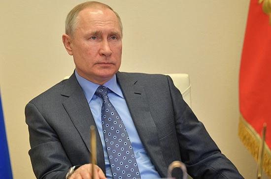 Путин будет контролировать выполнение задач по поддержке малого бизнеса