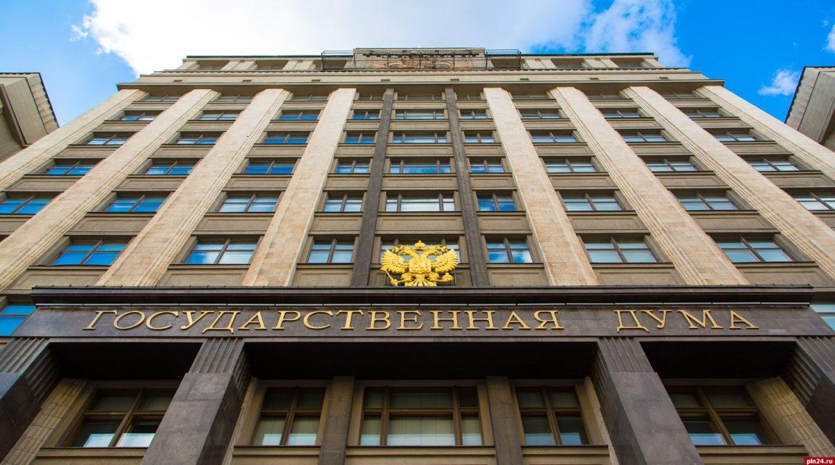 ГД приняла закон обосвобождении отНДС оказываемых погосзаказу услуг