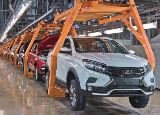 Минпромторг прогнозирует падение производства и продаж автомобилей в 2020 году на 15–20%
