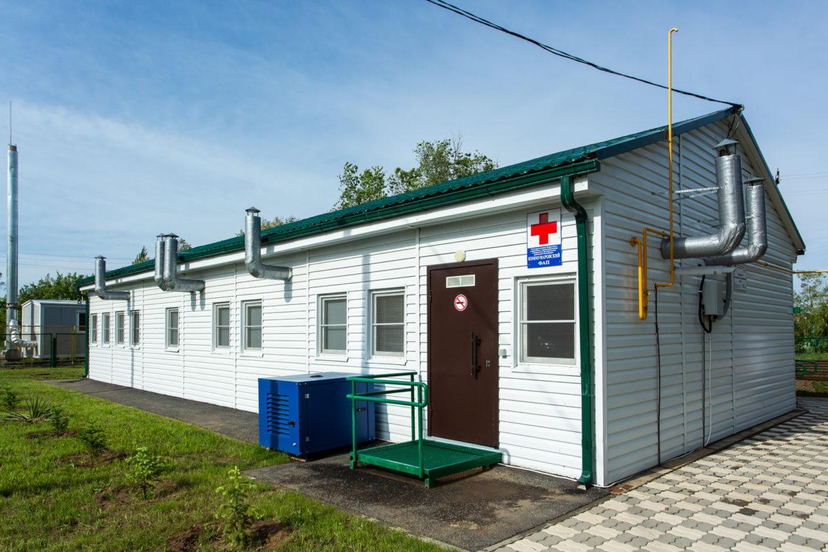 Нацпроект «Здравоохранение»: вселах Волгоградской области строят новые ФАПы