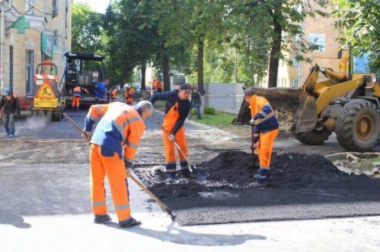 Ремонт дорог по нацпроекту в Нижнем Новгороде выполнен на 70%
