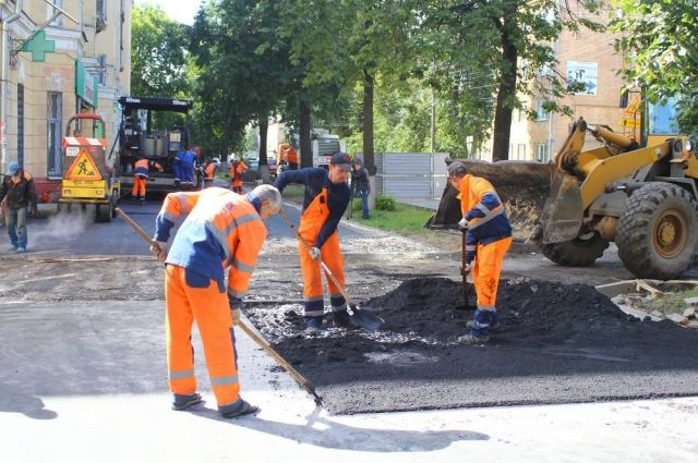 Ремонт дорог понацпроекту вНижнем Новгороде выполнен на70%