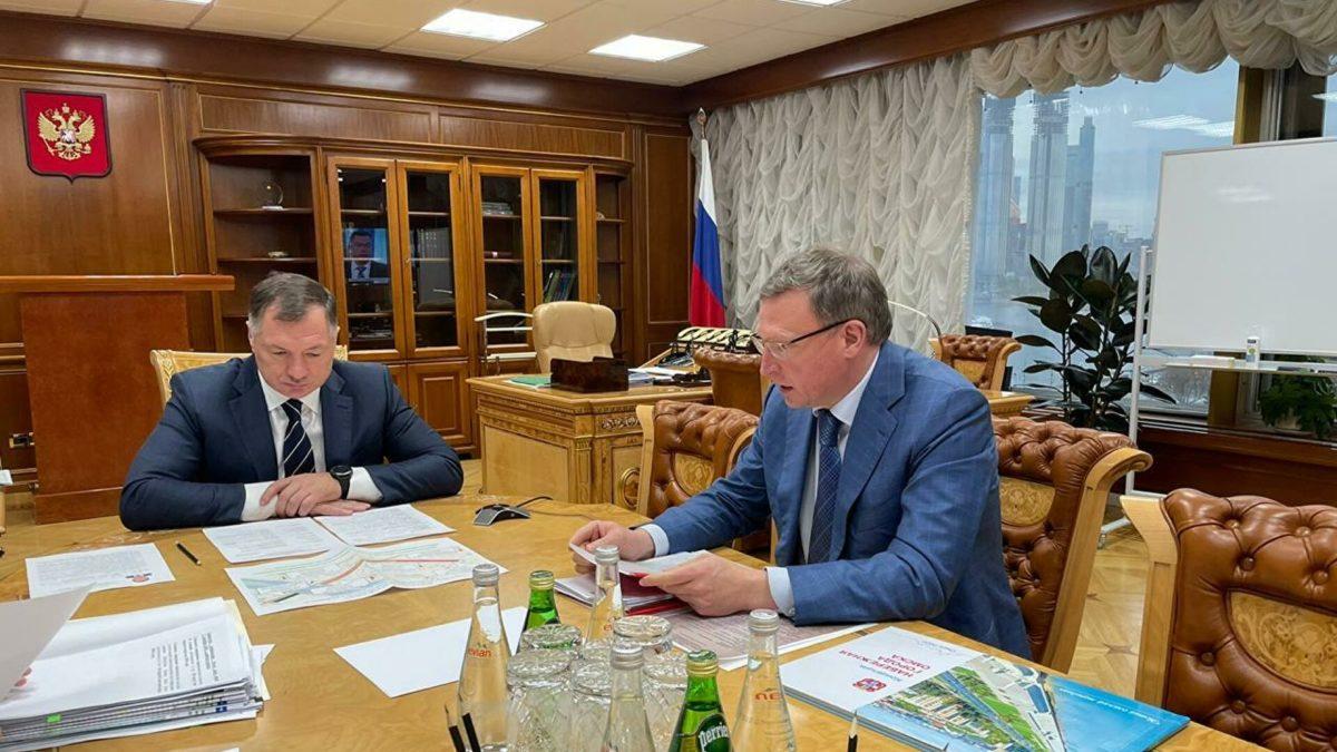 Хуснуллин высоко оценил исполнение дорожного нацпроекта вОмской области